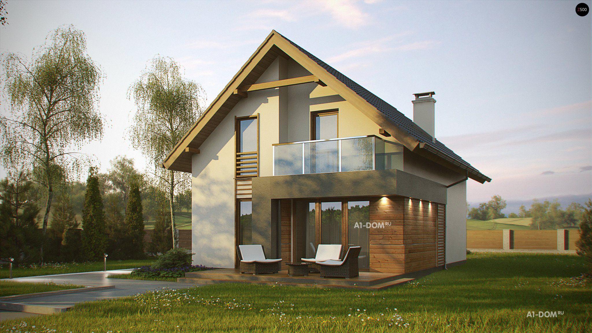 """Проект дома z174 производственная компания """"строй дом""""."""